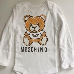 Designer inspired baby onesie